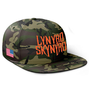 Last of the Street Survivors Camo Hat-Lynyrd Skynyrd