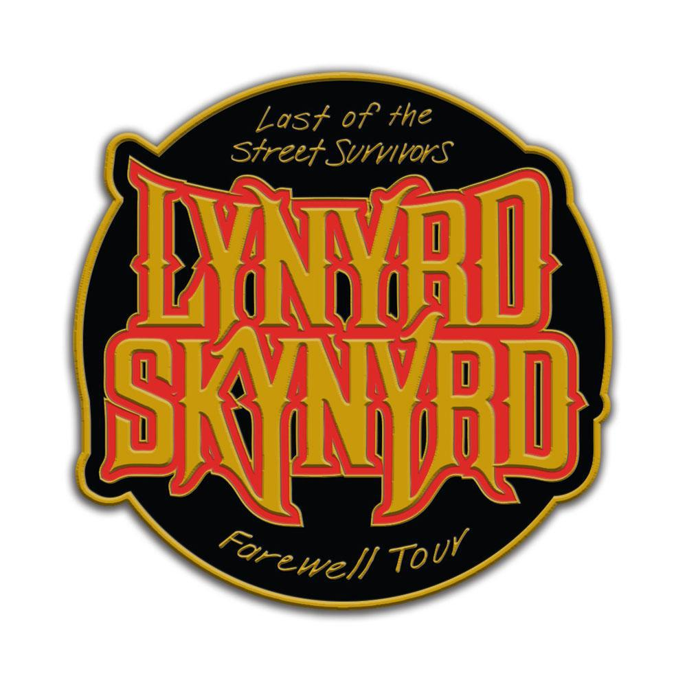 Last of the Street Survivors Farewell Tour Pin-Lynyrd Skynyrd