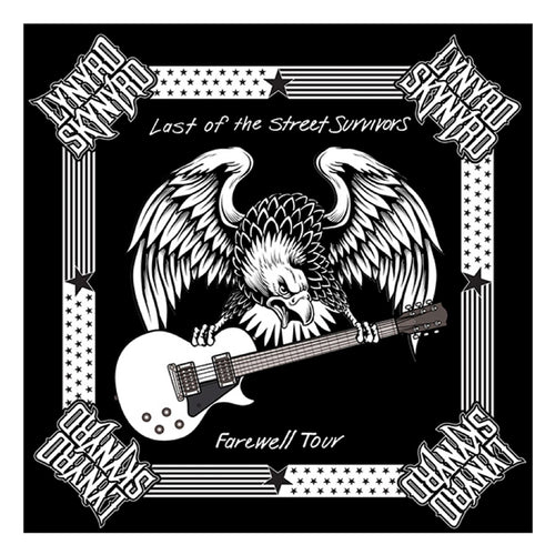 Last of the Street Survivors Farewell Tour Bandana-Lynyrd Skynyrd