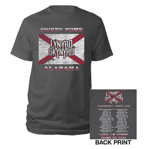 Sweet Home Alabama 2018 Tour Tee-Lynyrd Skynyrd