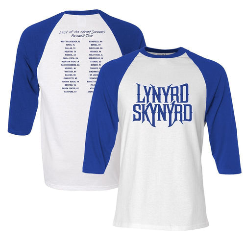 Last of the Street Survivors Raglan-Lynyrd Skynyrd