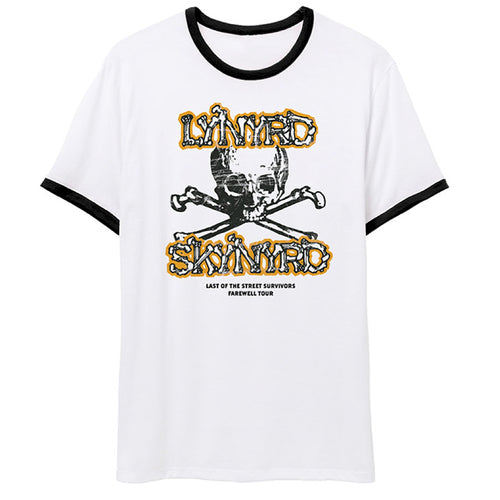 Last of the Street Survivors Skull Tee-Lynyrd Skynyrd