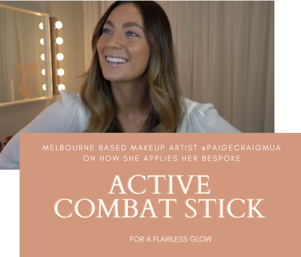 How to apply your Active Combat Stick for a flawless glow