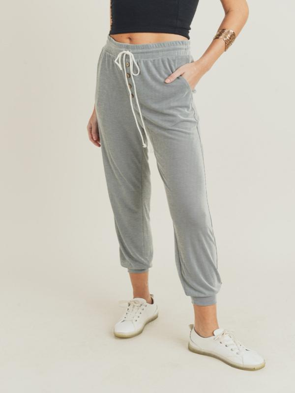 Just Breathe Pocketed Knit Joggers