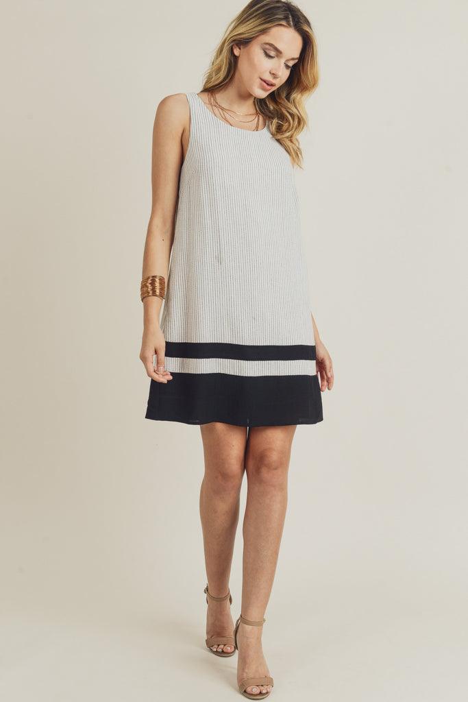 Stripe Color Block Dress