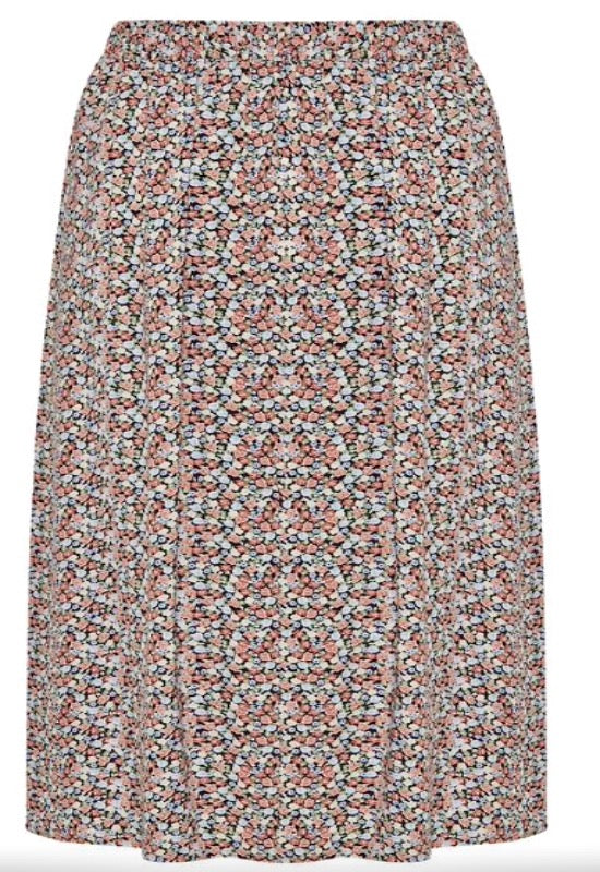 BY MMJOELLA Midi Skirt-Rose Tan Mix - Lark & Lily Boutique