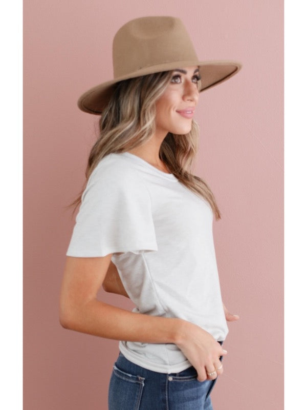 Addie Ruffle Sleeve Tee