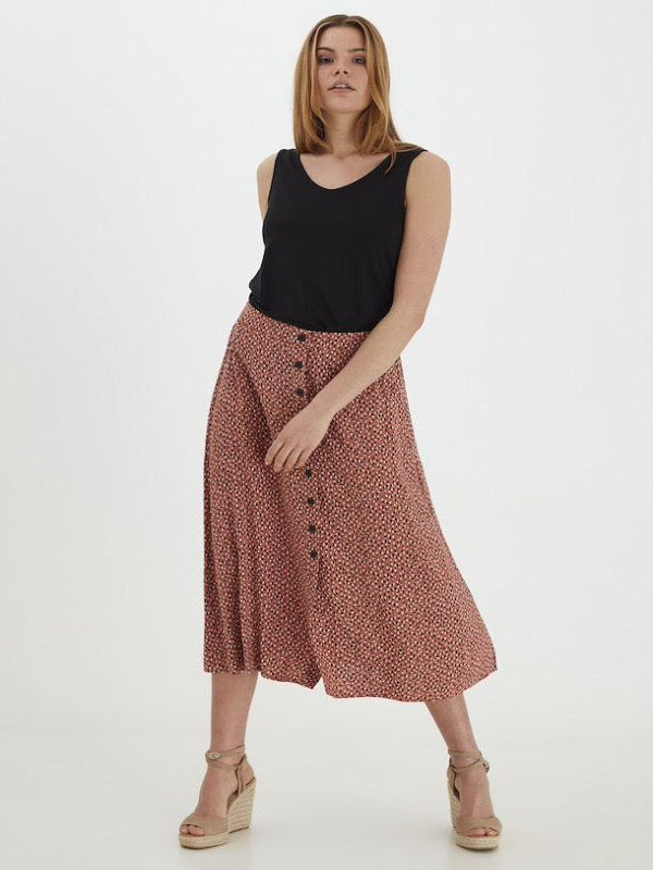 BY MMJOELLA Midi Skirt - Lark & Lily Boutique