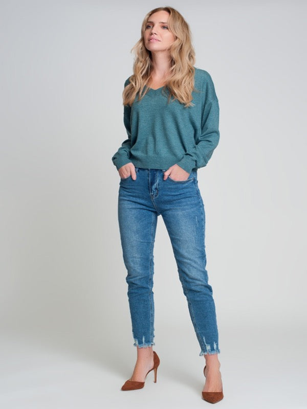 Jade Knit Sweater- Jade