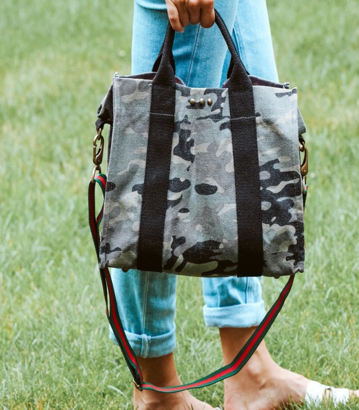 Madison Canvas Crossbody Tote - Lark & Lily Boutique