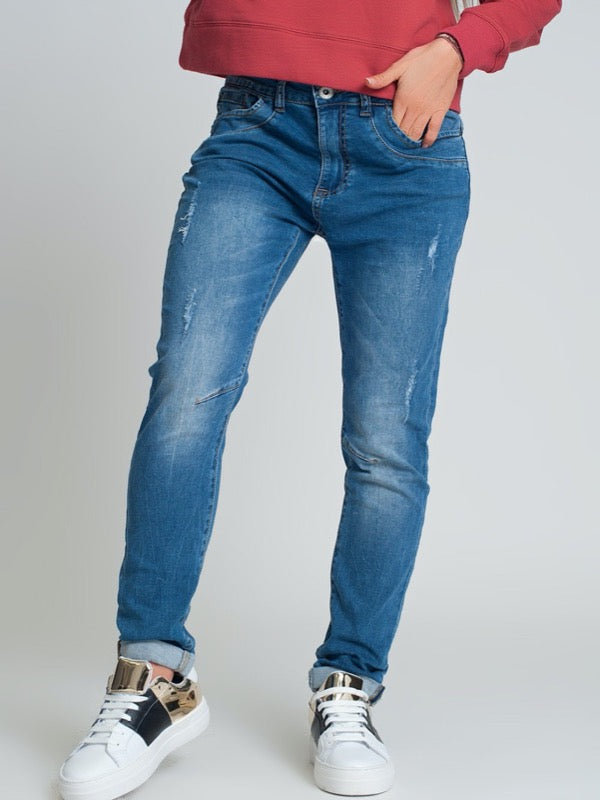 Madrid Boyfriend Jeans - Lark & Lily Boutique