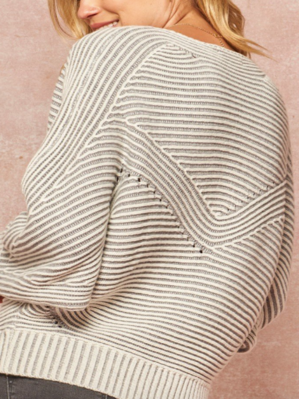 Kiera Striped Sweater