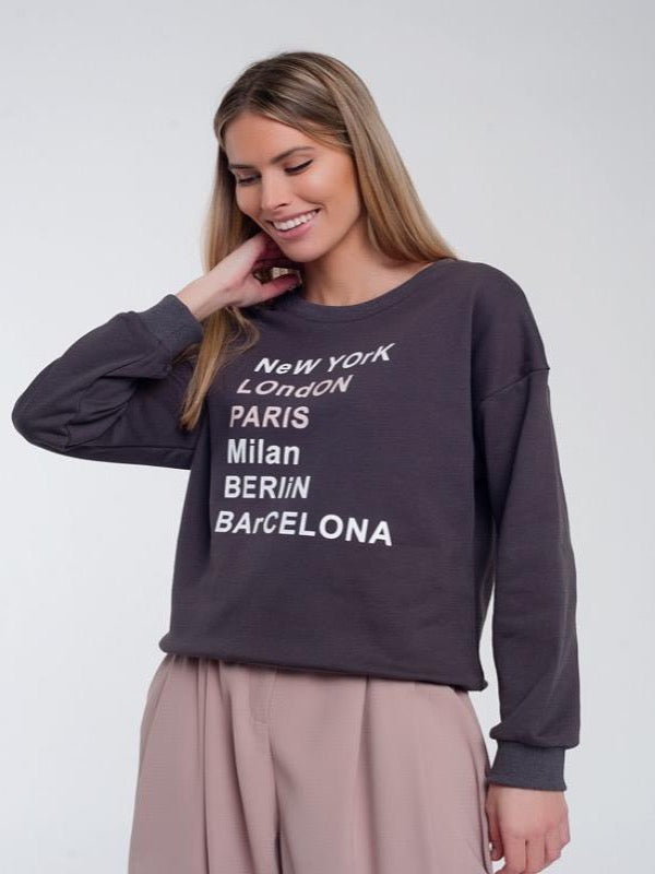 World Traveler Sweatshirt - Lark & Lily Boutique