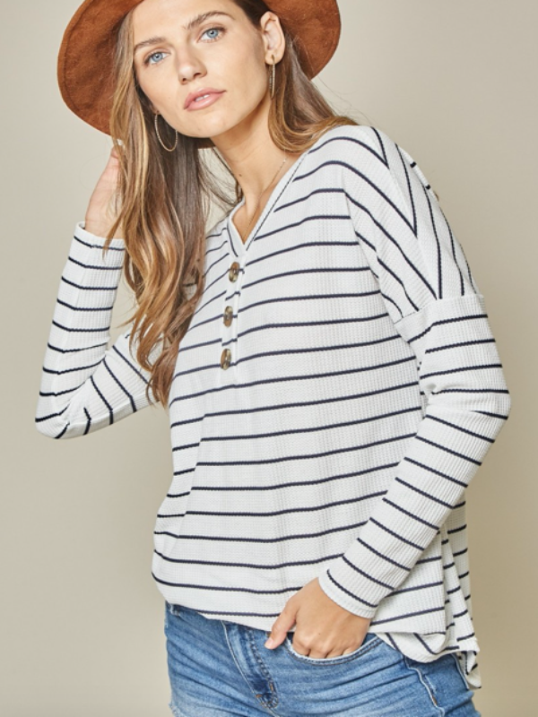 Well Loved Striped Top