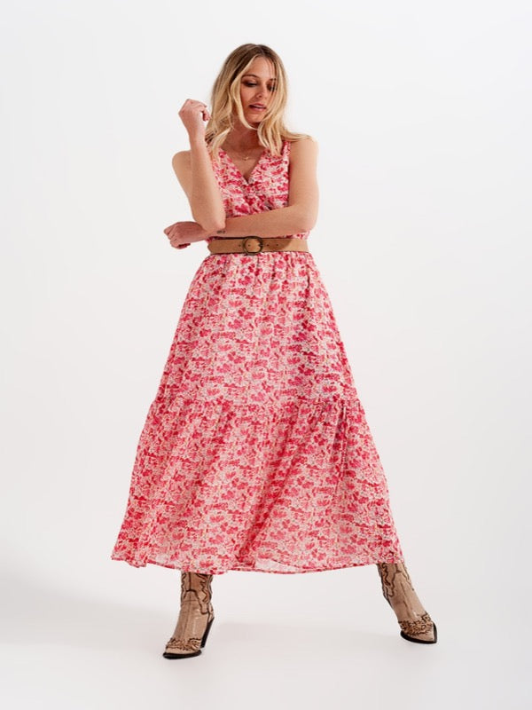 Ellyn Floral Maxi Dress - Lark & Lily Boutique