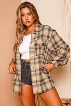 The Chivy Plaid Shacket