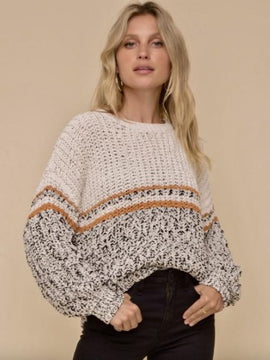 Jarvis Striped Knit Sweater