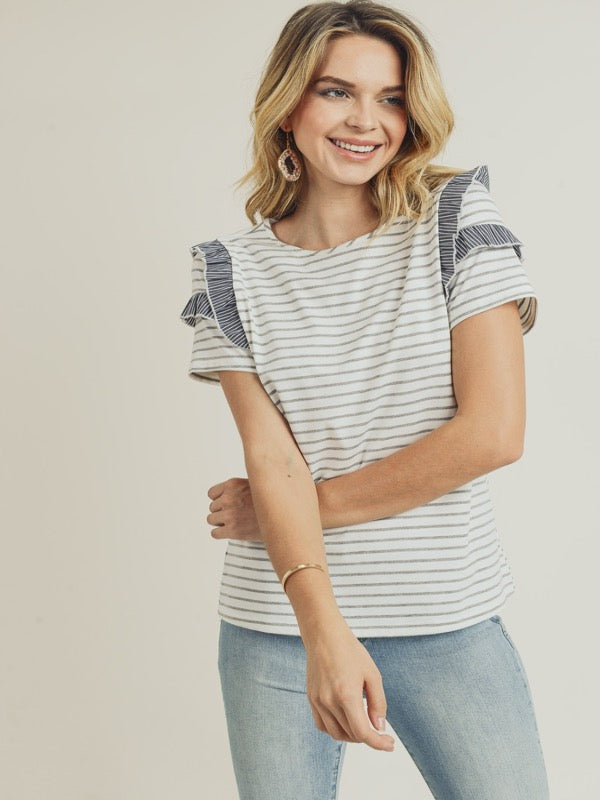 Merrow Line Stripe Top