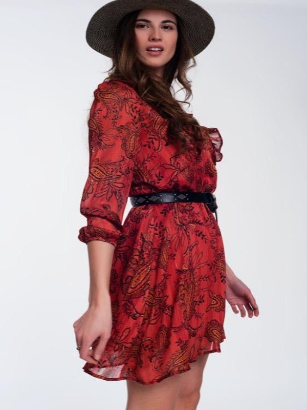 Pretty In Paisley Dress - Lark & Lily Boutique