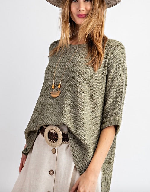 Fueled By Coffee Knit Sweater