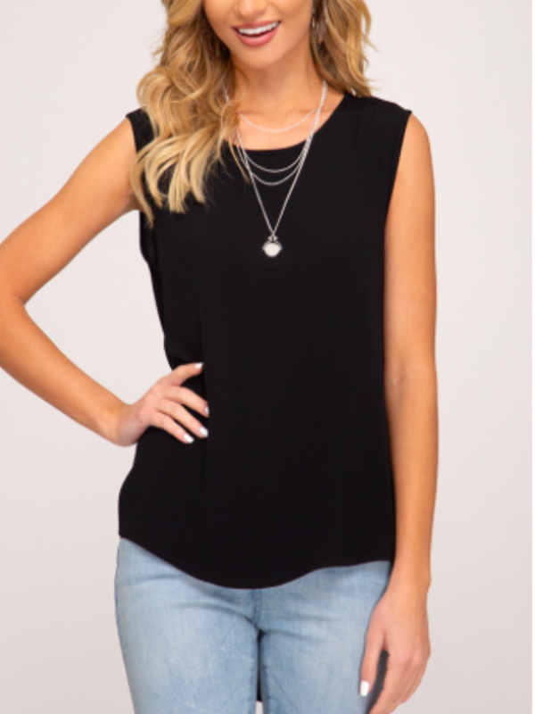 Mia Top- Black