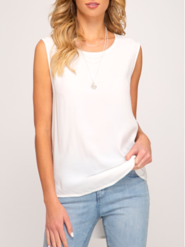 Mia Top- White