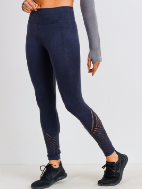 Seamless Black Legging