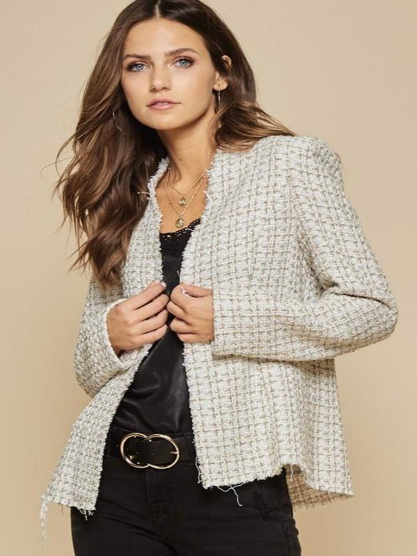 Country Club Tweed Jacket-FINAL SALE - Lark & Lily Boutique