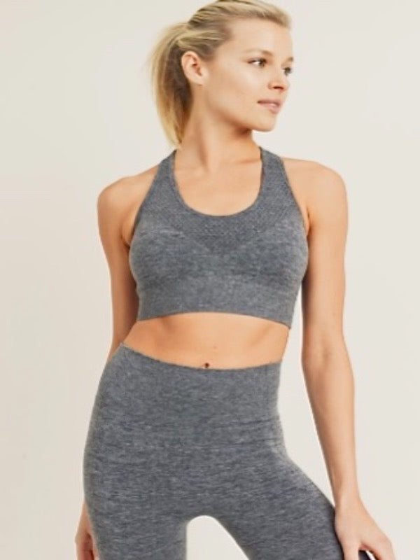 Chevron Racerback Sports Bra