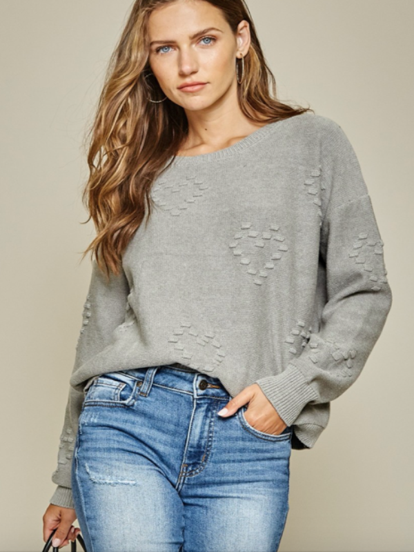 Sweetheart Knit Sweater