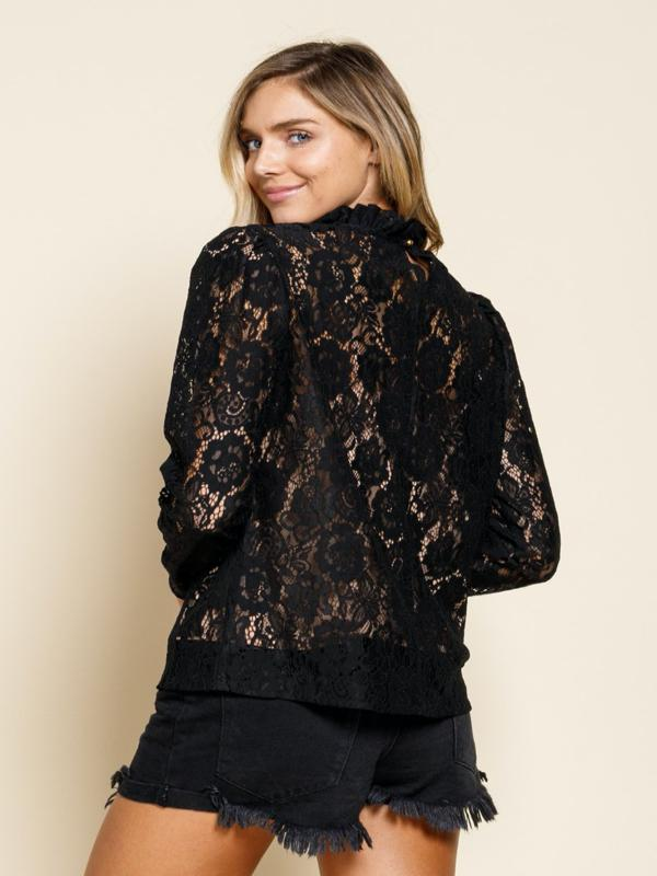 Portals of the Past Lace Top