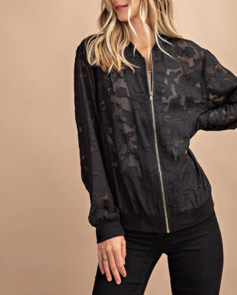 Black Jack Lace Jacket
