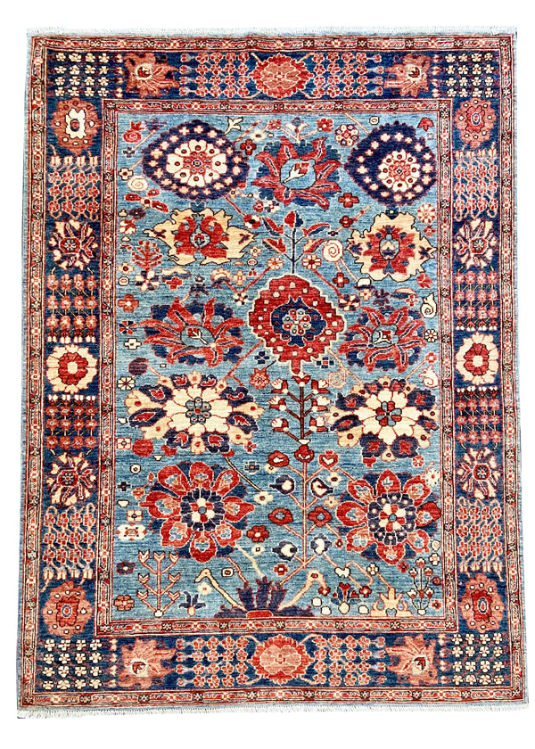 "5'2""x7' Afghan-Harshang"