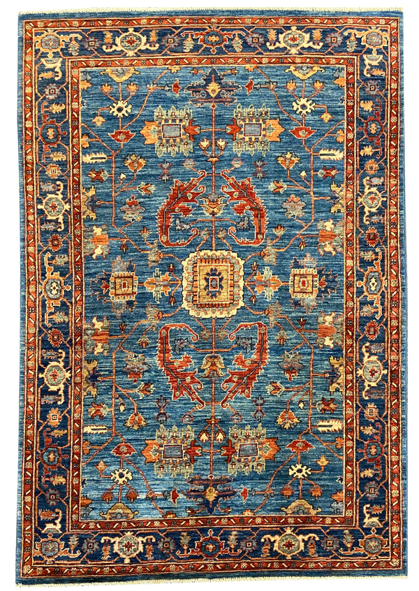 "4'2""x6' Afghan-Sultanabad"