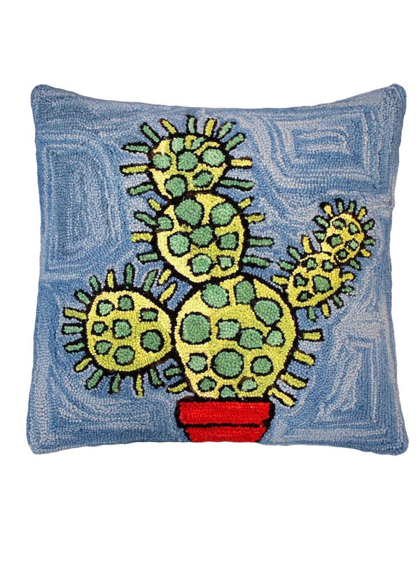 Bloomer Cactus Pillow