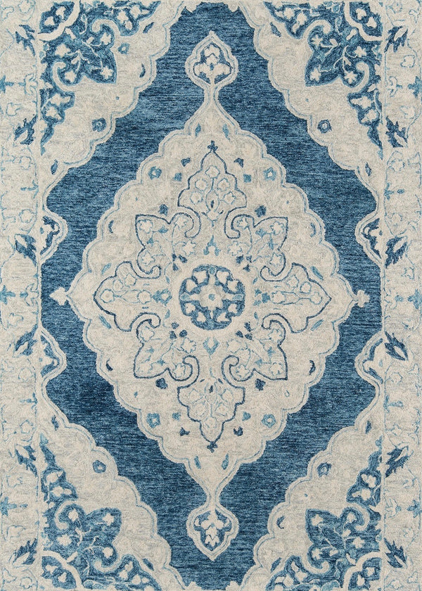 Tangier Medallion Blue