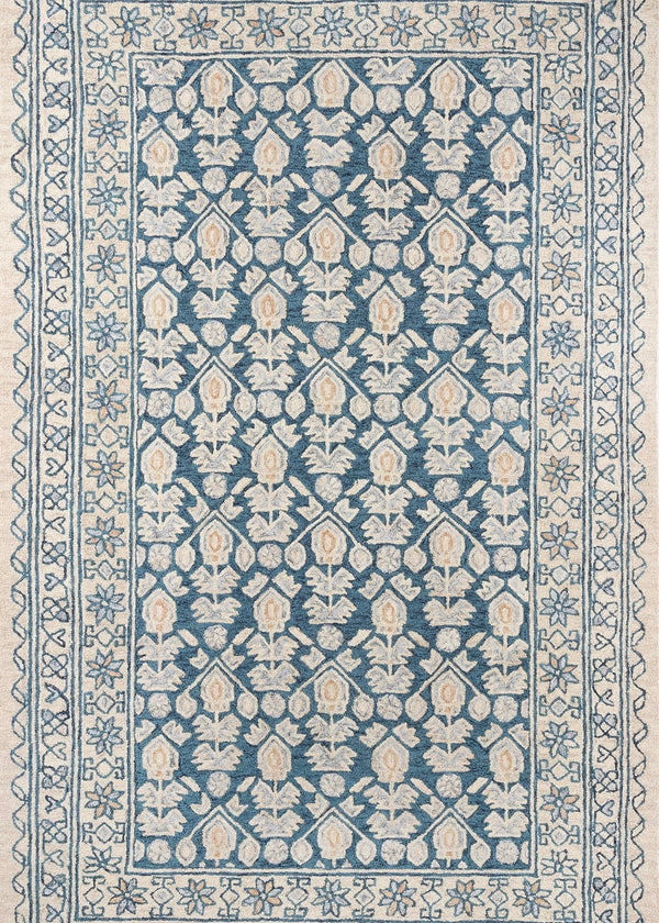 Tangier Blue/Ivory