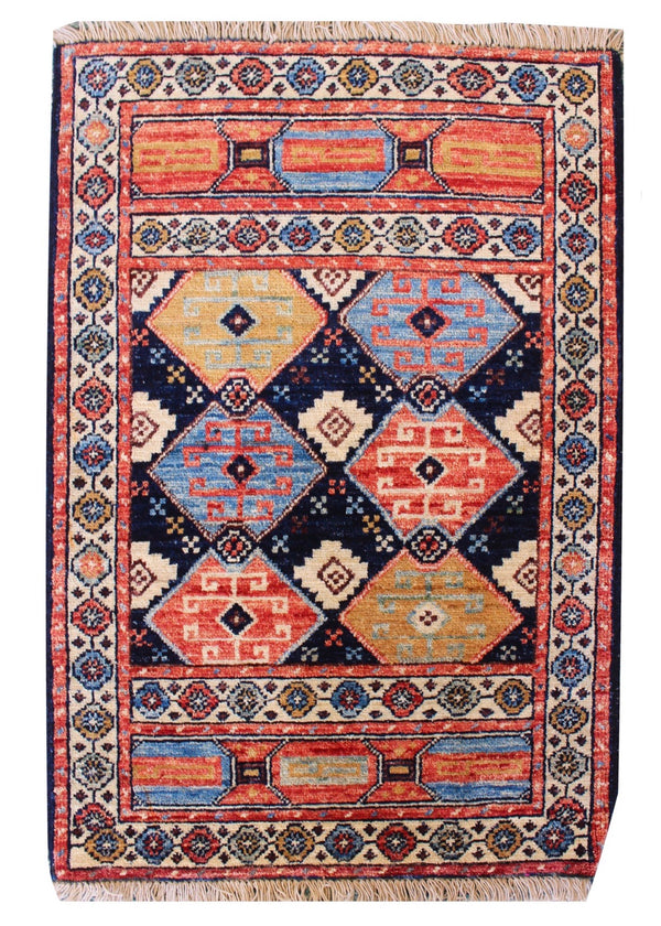 "2'x2'11"" Tribal Shirvan"