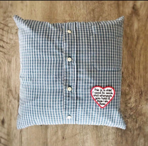 Keepsake Memory Pillow Case