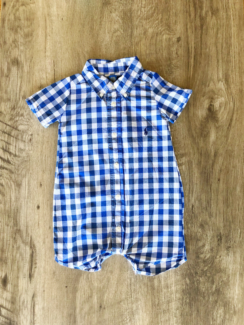 Refashioned Baby Boy One Piece