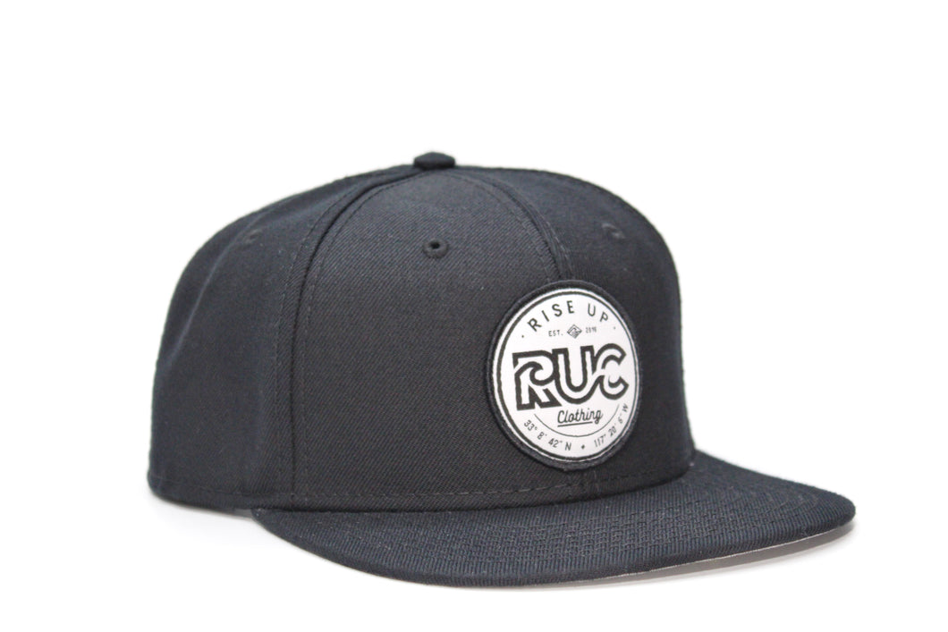 RUC Black, Solid  Hat