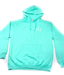 Pullover Mint Tower 33 Hoodie.