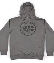 Load image into Gallery viewer, RUC Pullover Charcoal Hoodie.