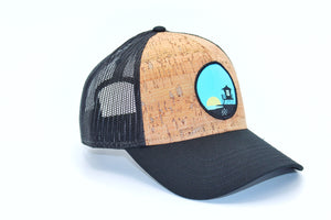 Cork, Low Profile Tower 33, Trucker Hat.