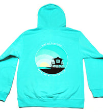 Load image into Gallery viewer, Pullover Mint Tower 33 Hoodie.