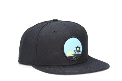 Tower 33 Black, Solid Hat