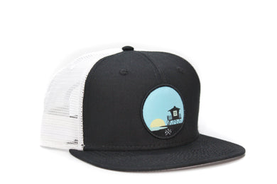 Tower 33 Black and White Trucker Hat