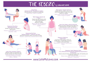 How to use a Rebozo, the definitive guide.