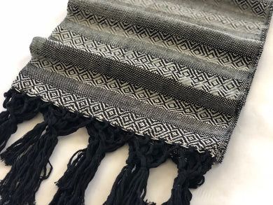 Mexican Rebozo Shawl - Ying Yang - Rebozo Shop Lola My Love