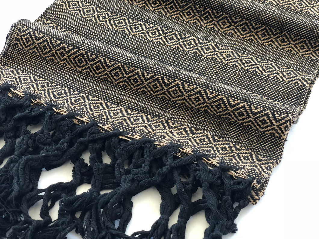 Mexican Rebozo Shawl - Cookies & Cream - Rebozo Shop Lola My Love
